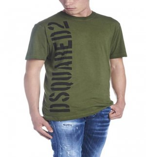 Men Summer Apparel Cotton Rround Neck T-shirt