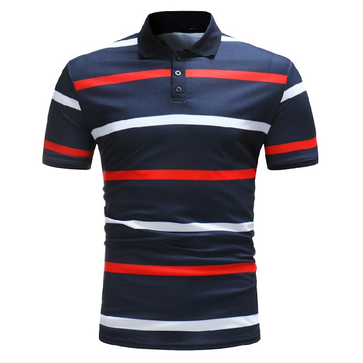 Pullover Suppler Stripped Polo shirts wholesale USA