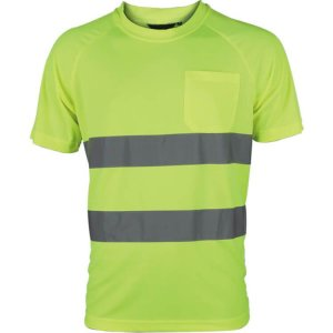 Yellow Safety Uniform Dry-Fit T-shirt