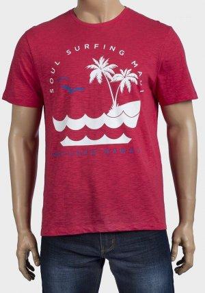 Mens Short Sleeve Hawaii T-Shirt